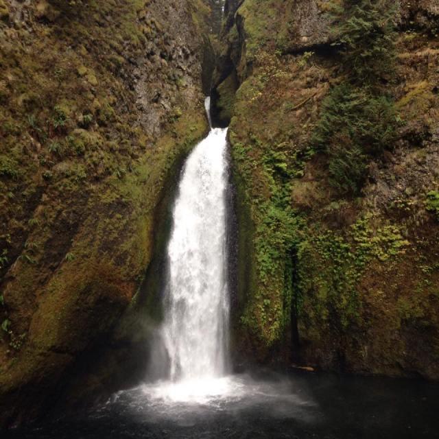 Waterfall Alone